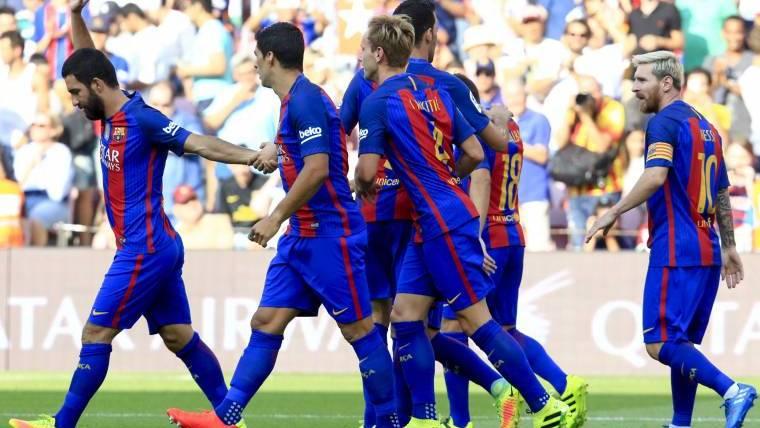 Estad�sticas y curiosidades del FC Barcelona 6 Betis 2