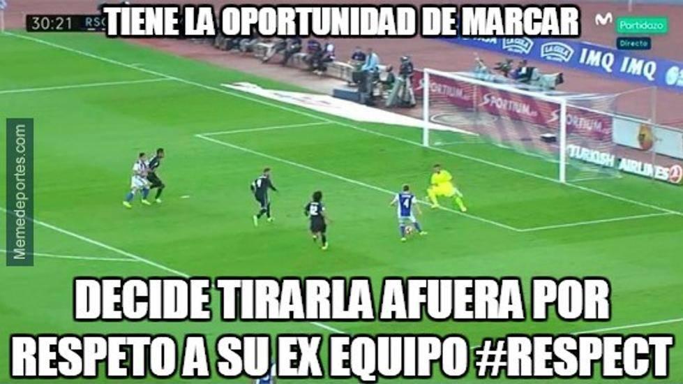"""Los mejores """"memes"""" del Real Sociedad-Real Madrid"""