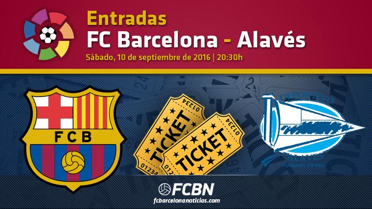 Entradas FC Barcelona vs Alav�s