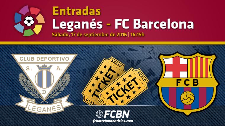 Entradas Legan�s vs FC Barcelona