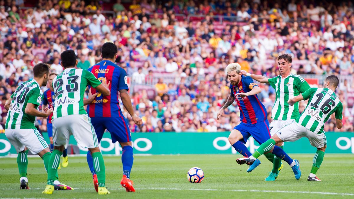 """El dato que confirma que el Barça """"bailó"""" al Betis en Liga"""