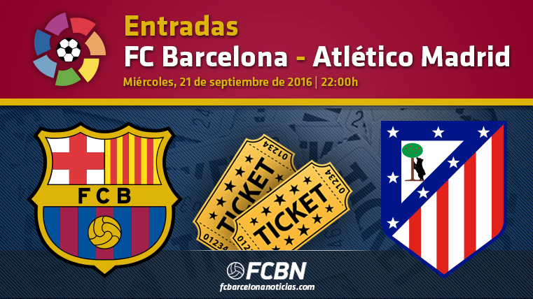 Entradas FC Barcelona vs Atl�tico Madrid
