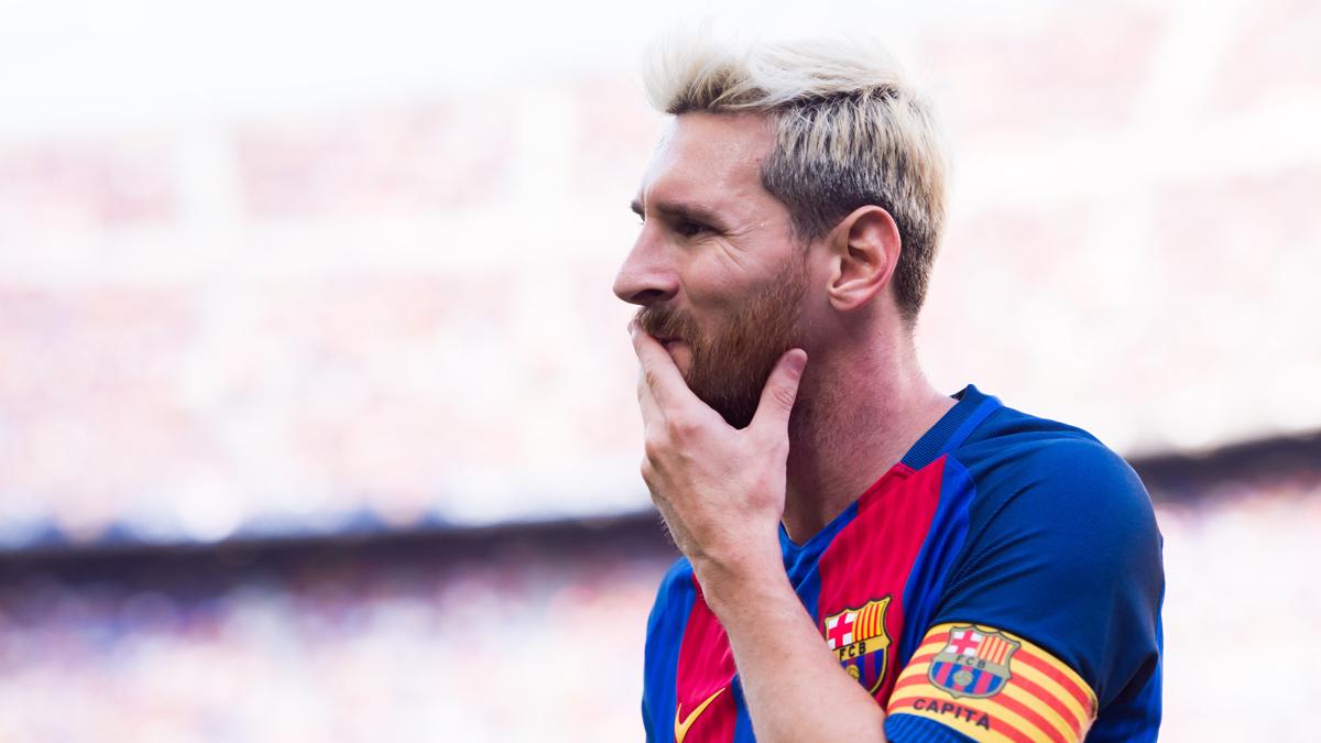 Leo Messi ya est� en el TOP 5 de la historia del Bar�a