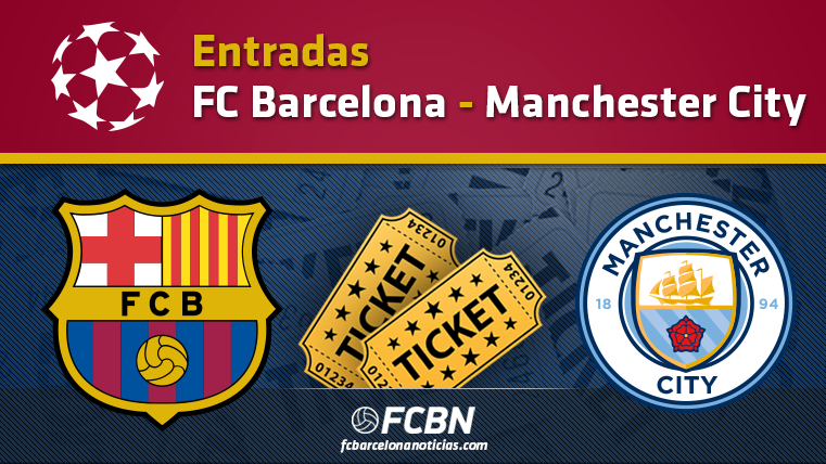 Entradas FC Barcelona vs Manchester City - Champions League