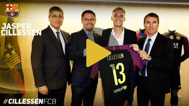 Cillessen lucir� el dorsal de Bravo en el FC Barcelona