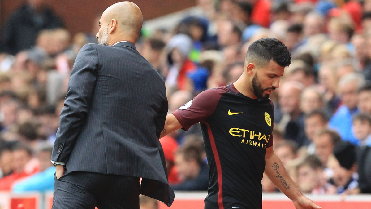 Ag�ero destaca la exigencia de Guardiola en el City