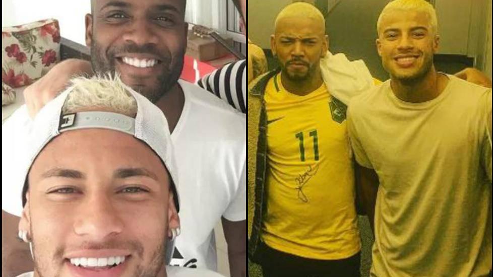 Rafinha tambi�n se apunta a la moda de Messi y Neymar