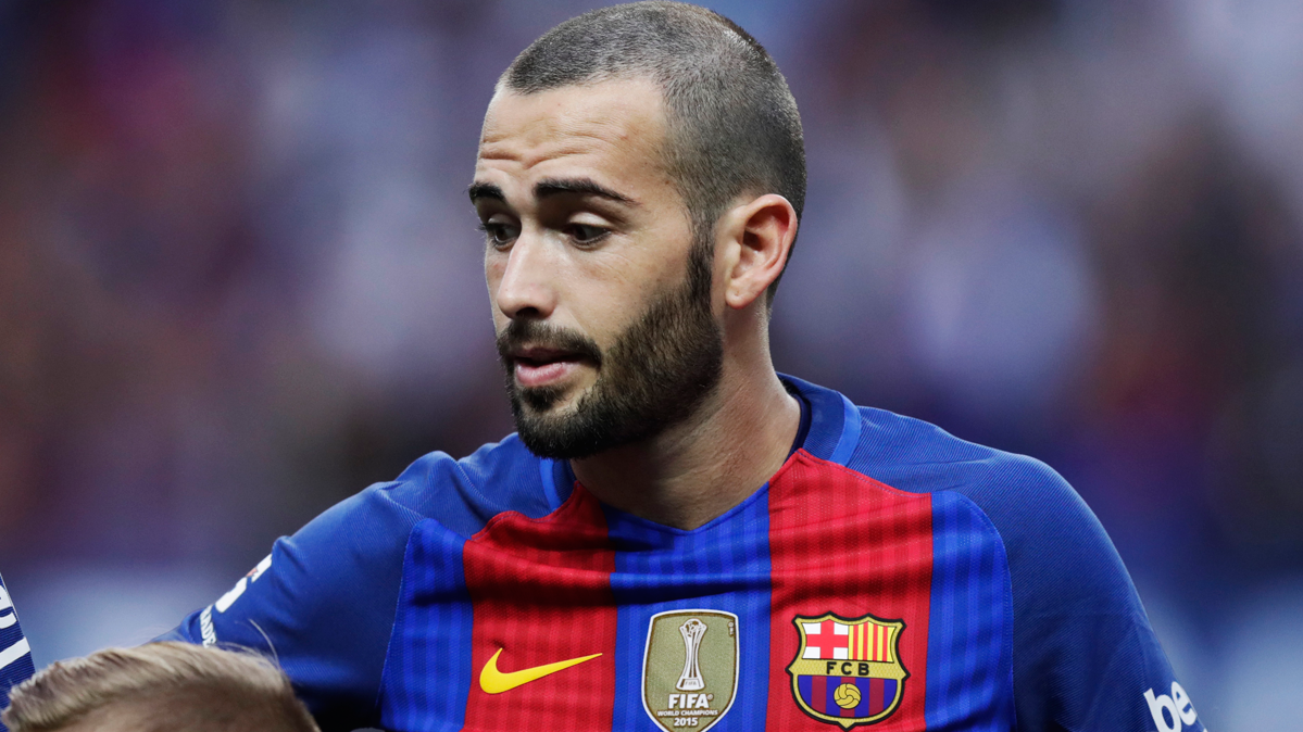 El Bar�a podr�a estar buscando ya un relevo para Aleix Vidal