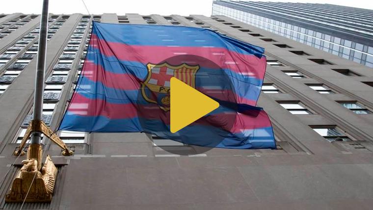 El FC Barcelona conquista finalmente Nueva York