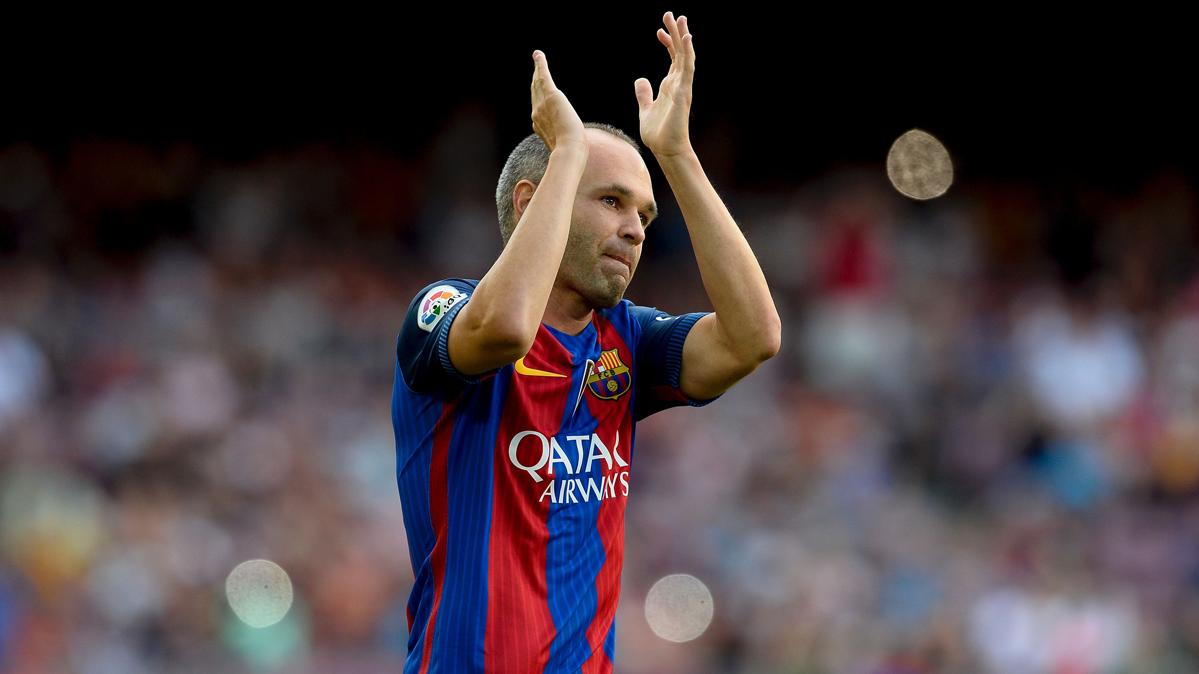 Iniesta no esconde su intención de llegar al Barça-Madrid