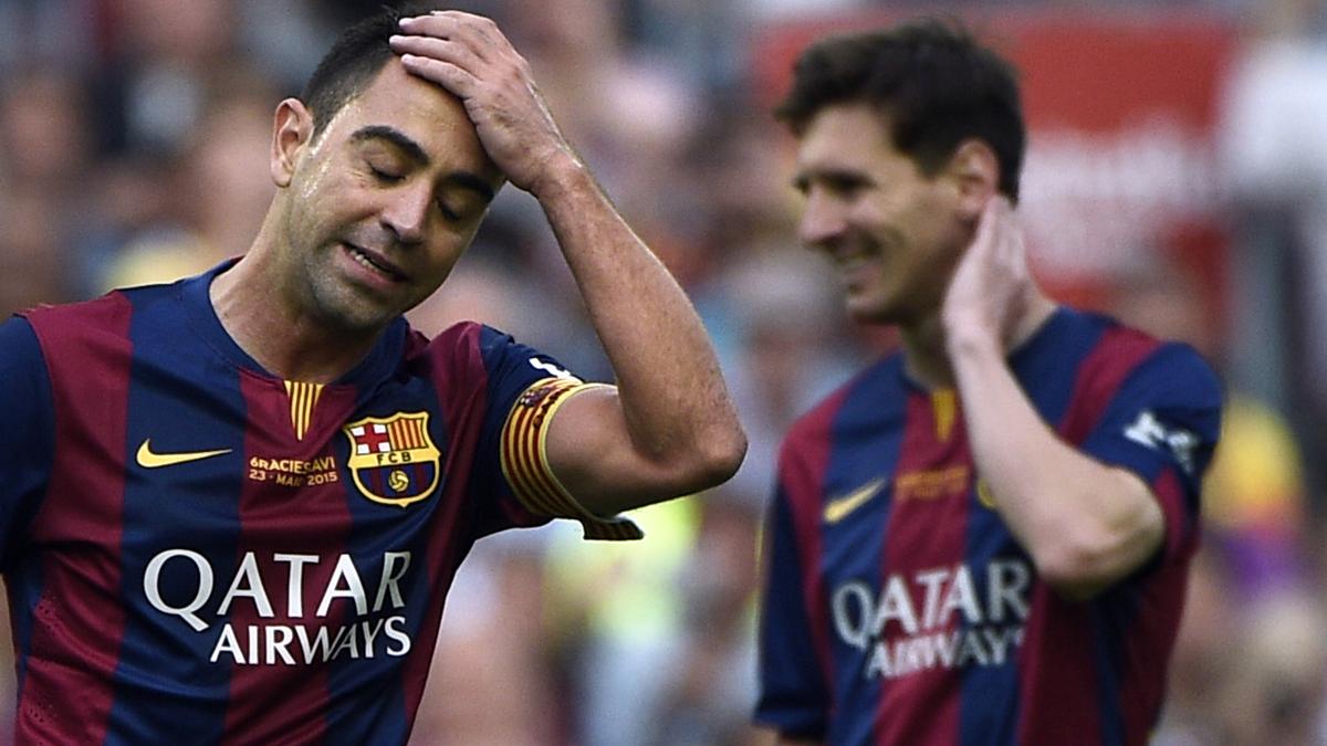 Dardo de Xavi a los seguidores del Madrid sobre Messi
