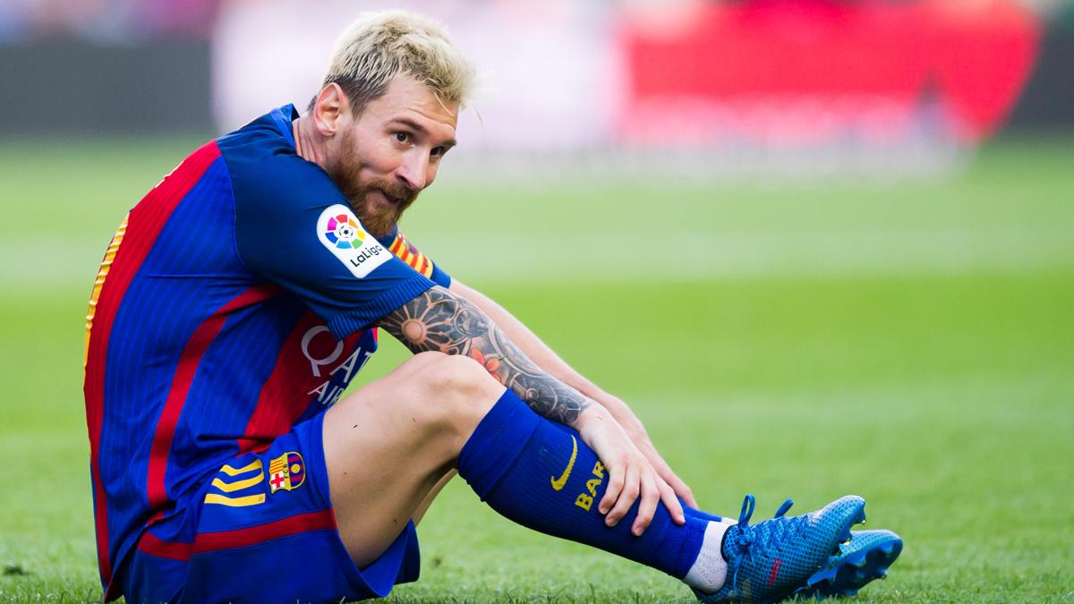 Destapan una campa�a para echar a Messi de Barcelona
