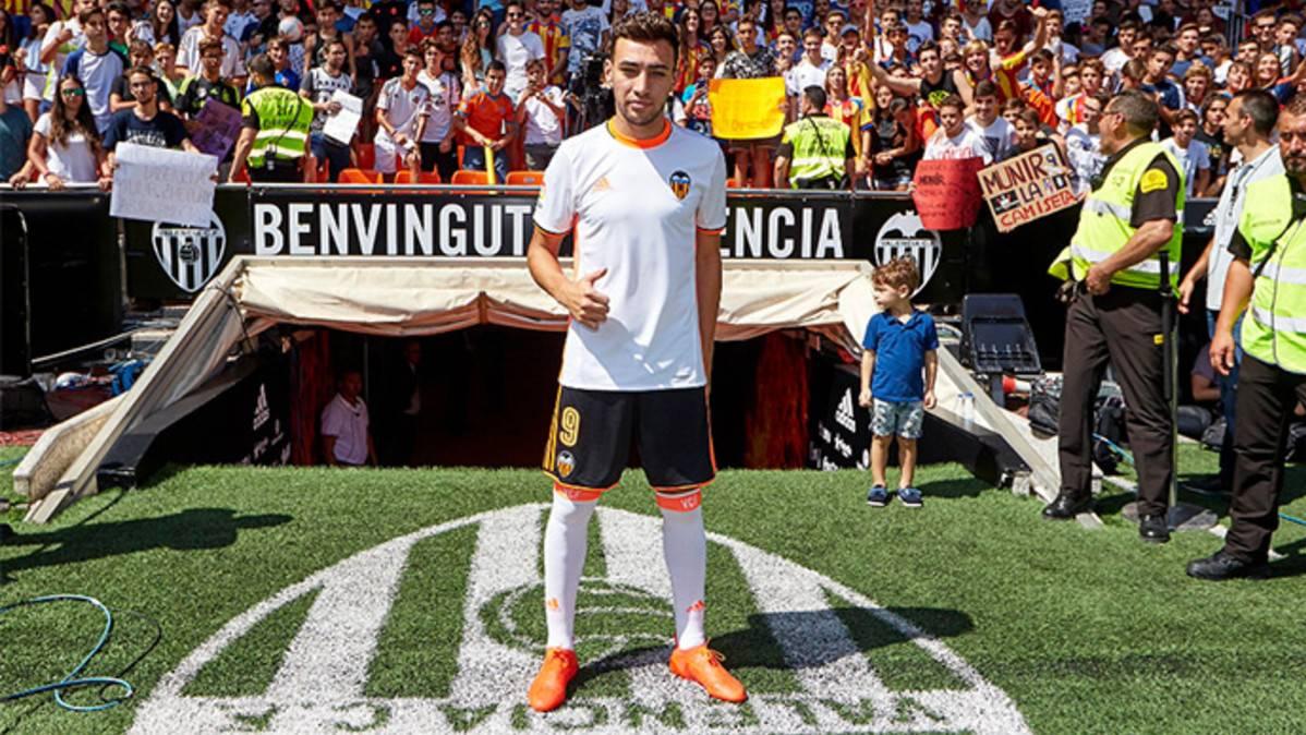 ¿Podrá jugar Munir El Haddadi con el Valencia contra el Barça?