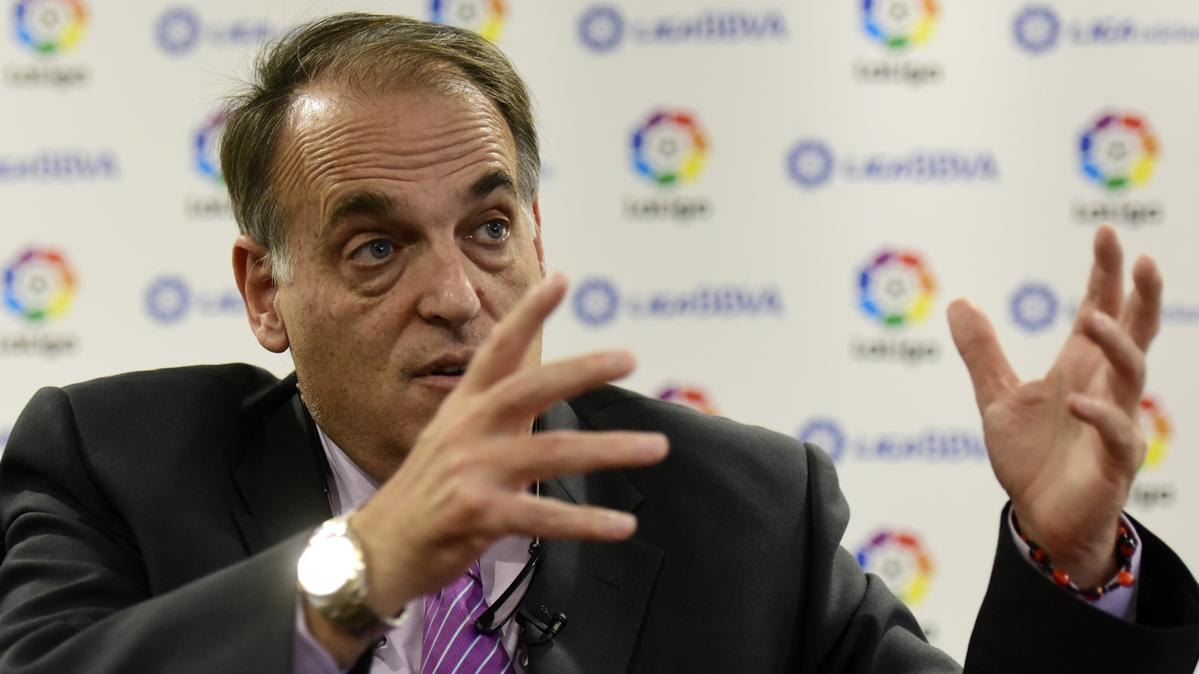 """El premio al Fair Play para Tebas es """"inadmisible"""" para el Barça"""