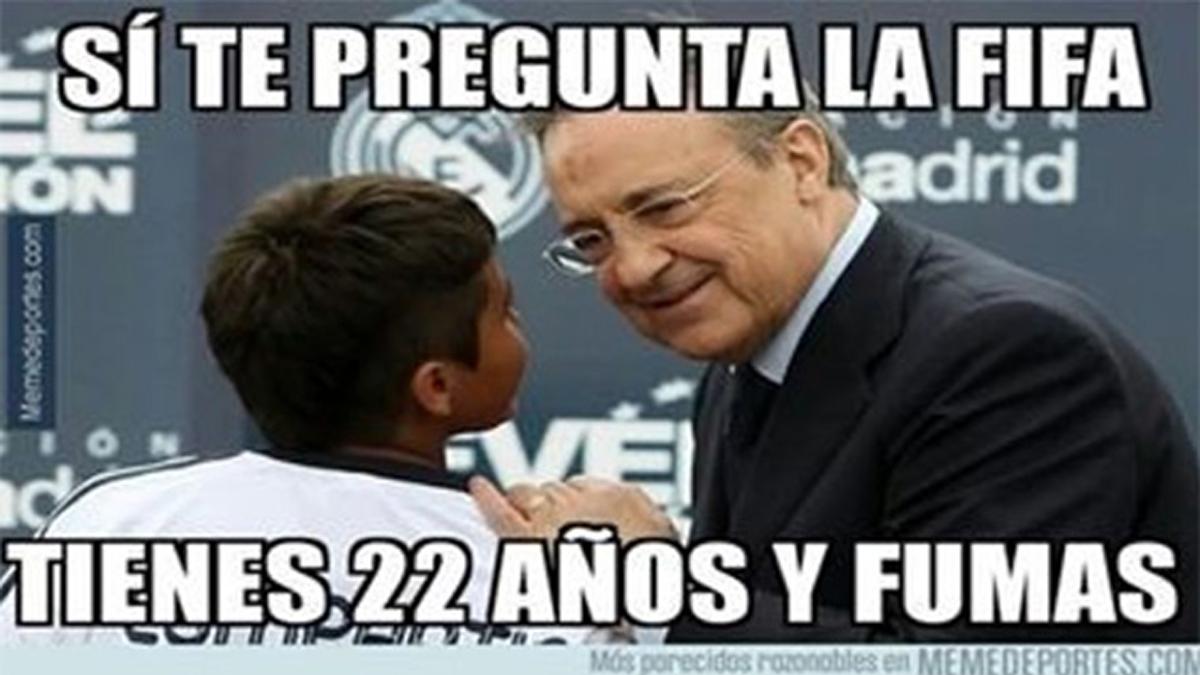 """Los """"memes"""" de la sanci�n FIFA a Real Madrid y Atl�tico"""