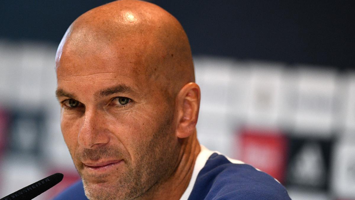 Zidane da su opini�n del enfado de Cristiano Ronaldo
