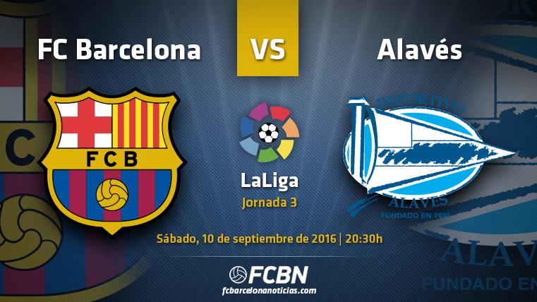 La previa del partido: FC Barcelona vs Alav�s (Liga J3)