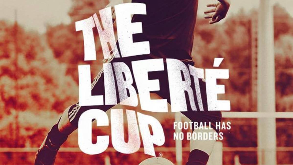Leo Messi, con los refugiados franceses y la Libert� Cup