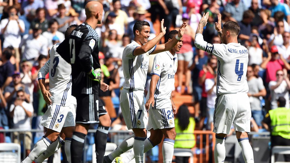 El Real Madrid fusil� a un combativo Osasuna (5-2)