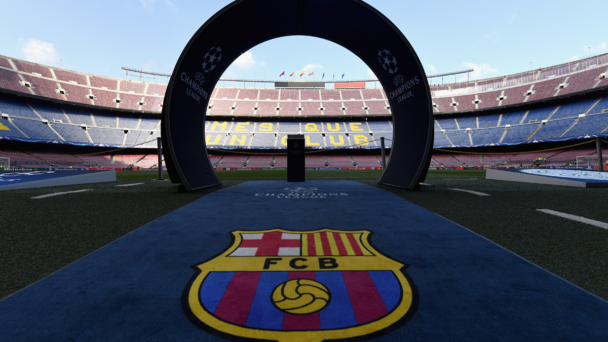 La cifra hist�rica del Camp Nou en el Bar�a-Granada