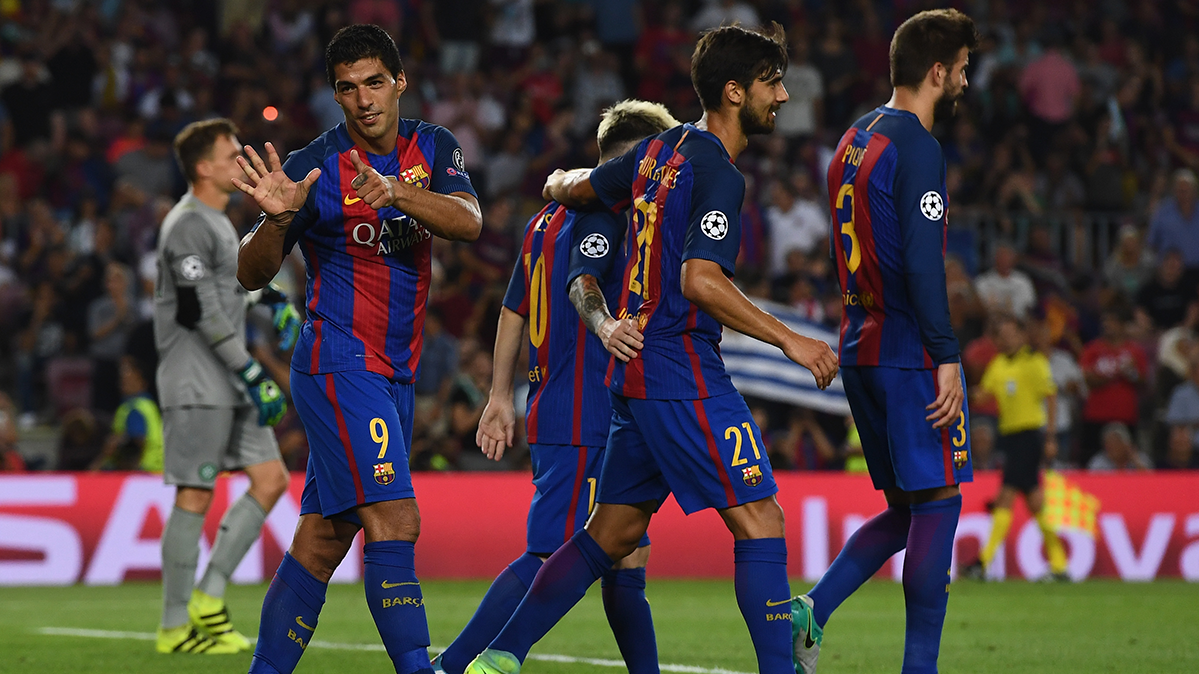 V�deo resumen: FC Barcelona 7 Celtic 0 (Champions J1)