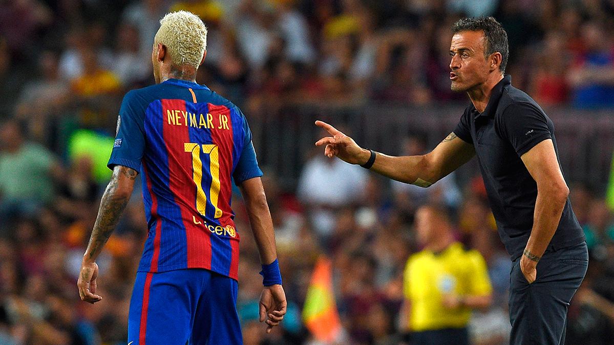 El Camp Nou sigue a muerte con Luis Enrique