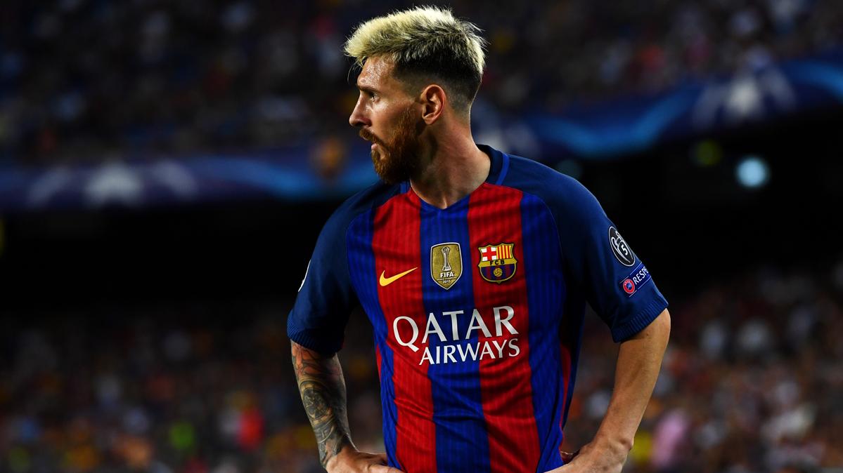 """Las """"finales"""" de Messi para disputar a """"CR7"""" el Bal�n de Oro"""
