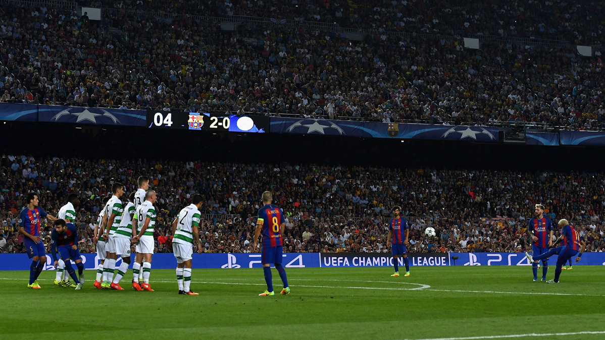 Una bolsa sospechosa hizo saltar las alarmas en el Camp Nou
