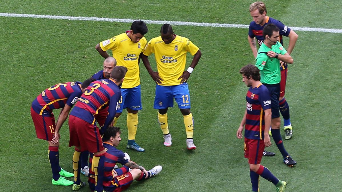 Messi no tuvo suerte en el primer partido con Bengoetxea