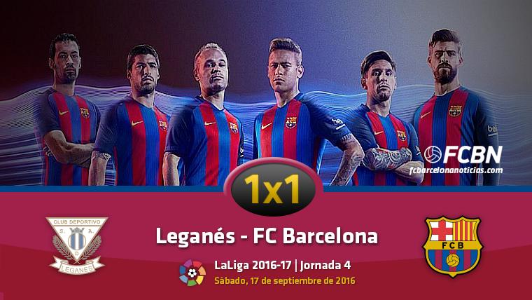 El 1x1 del FC Barcelona contra el CD Legan�s
