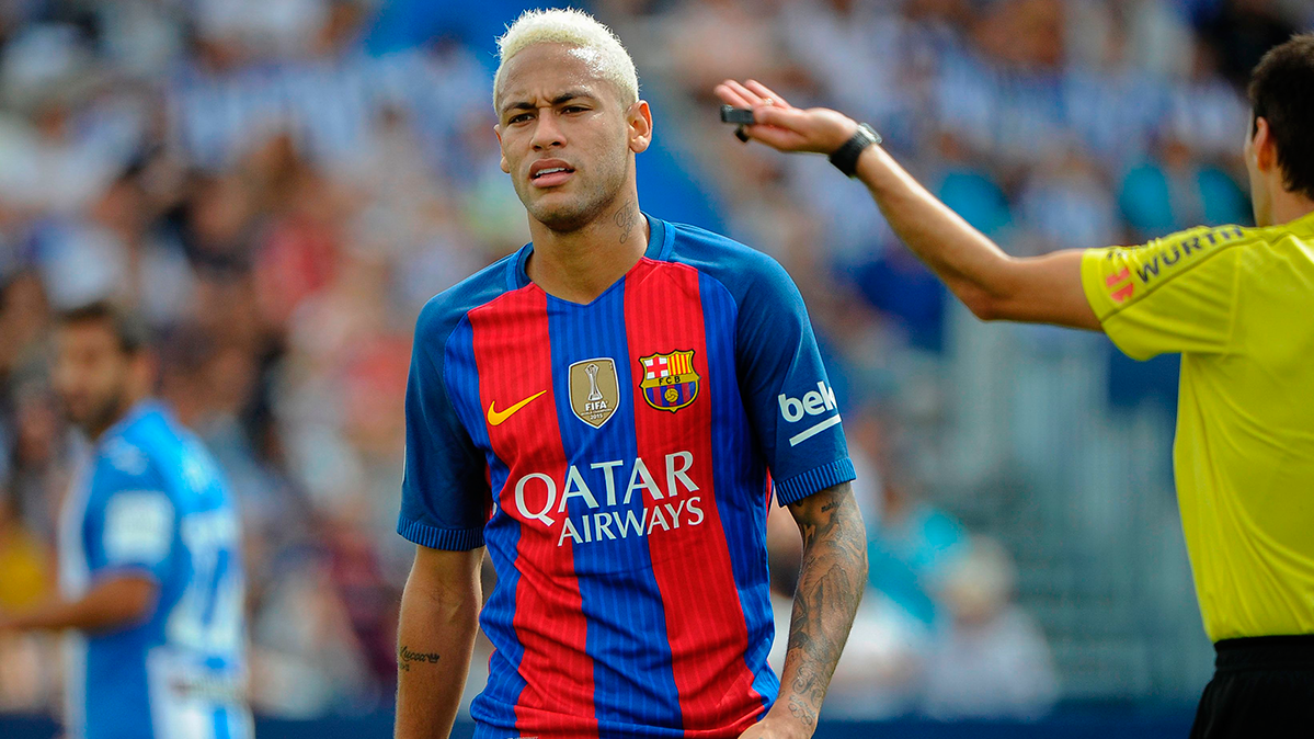 POL�MICA: Michael Laudrup critic� a Neymar por su juego