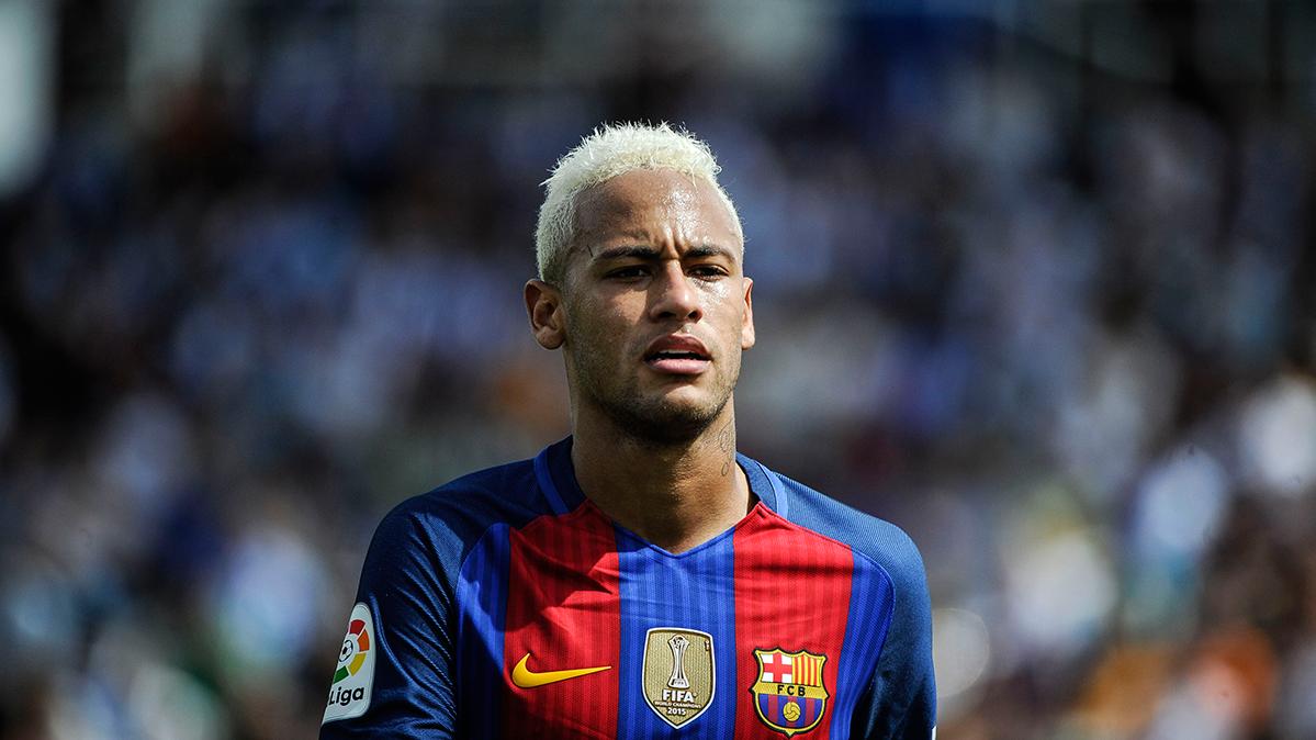 As� fue el enfado entre Neymar y Rafinha durante el Legan�s-Bar�a
