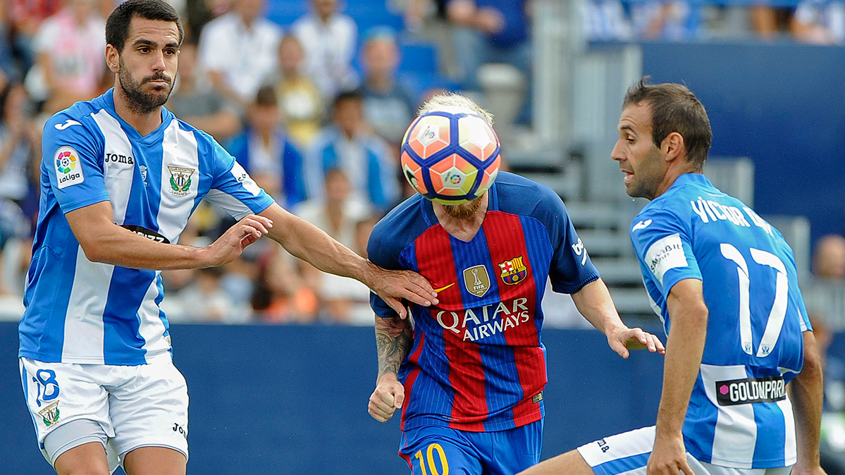 "El Legan�s se motiv� para ""romperle el c..."" al FC Barcelona"