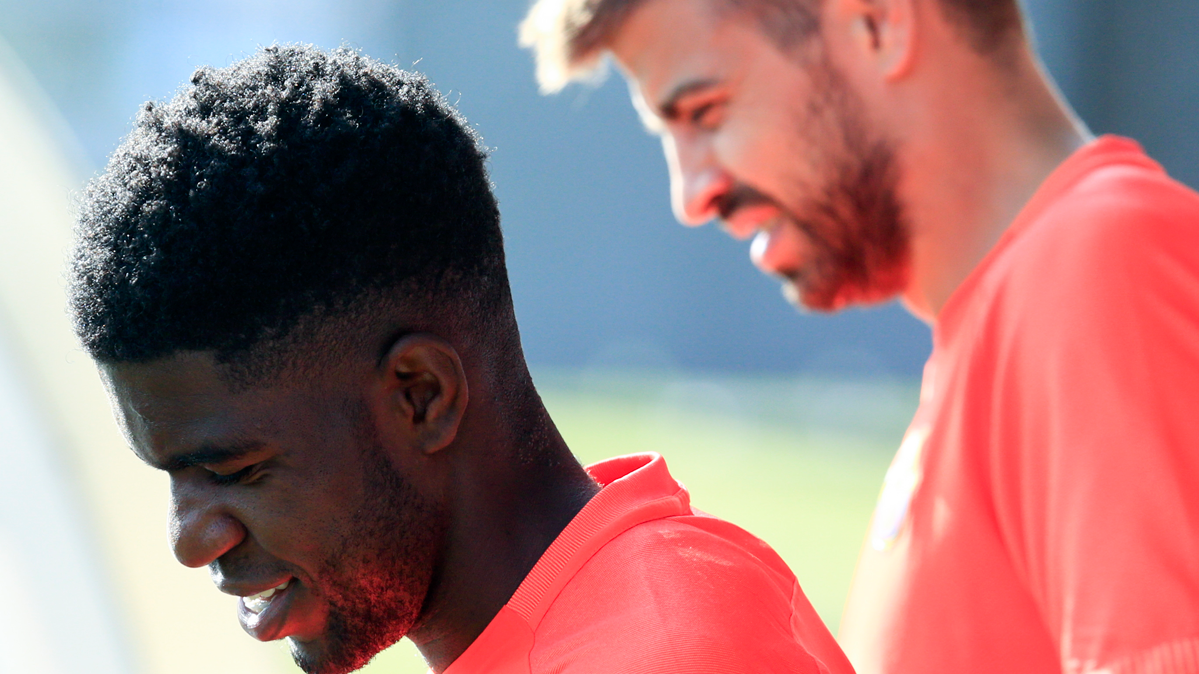 Umtiti ya recuerda a Puyol: salv� un gol ante el Legan�s