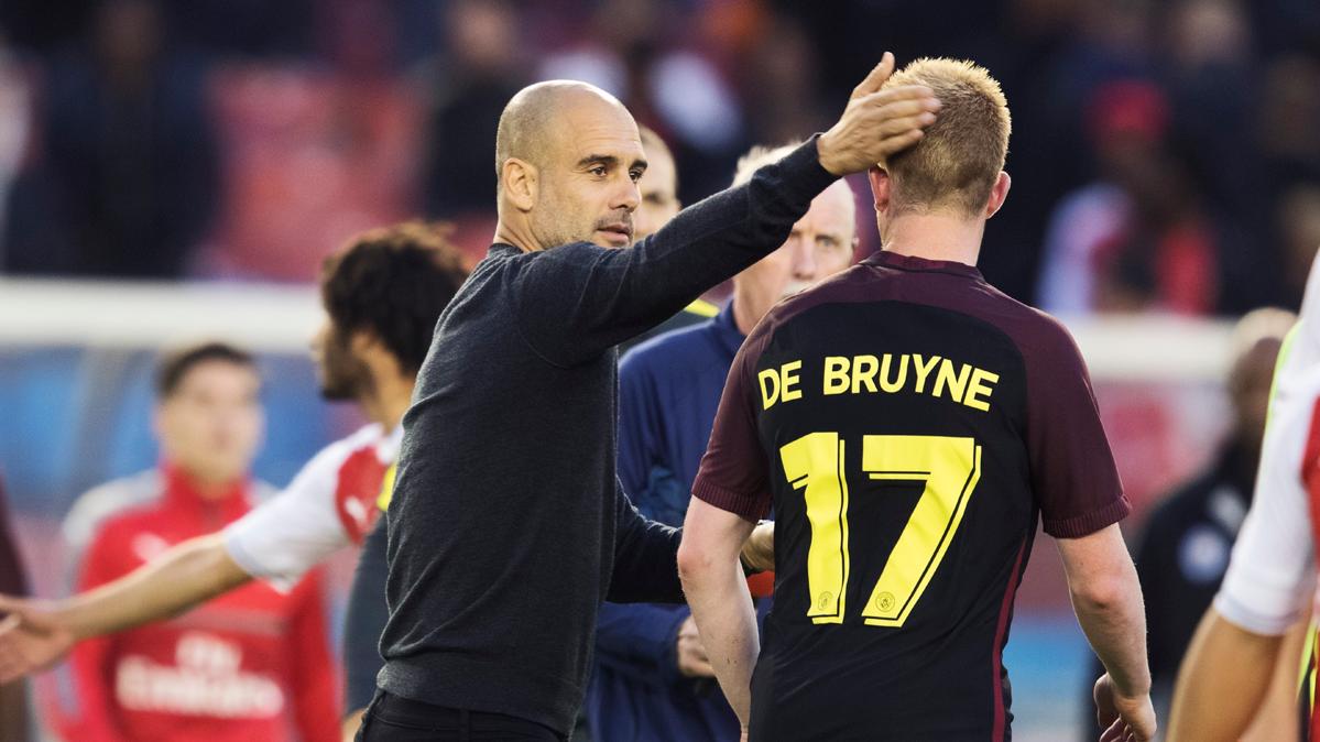Guardiola pone a De Bruyne casi al mismo nivel que Messi