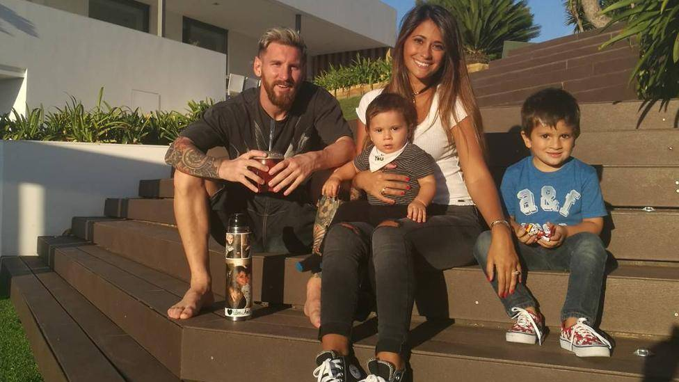 As� celebr� Messi la victoria contra el Legan�s en Liga
