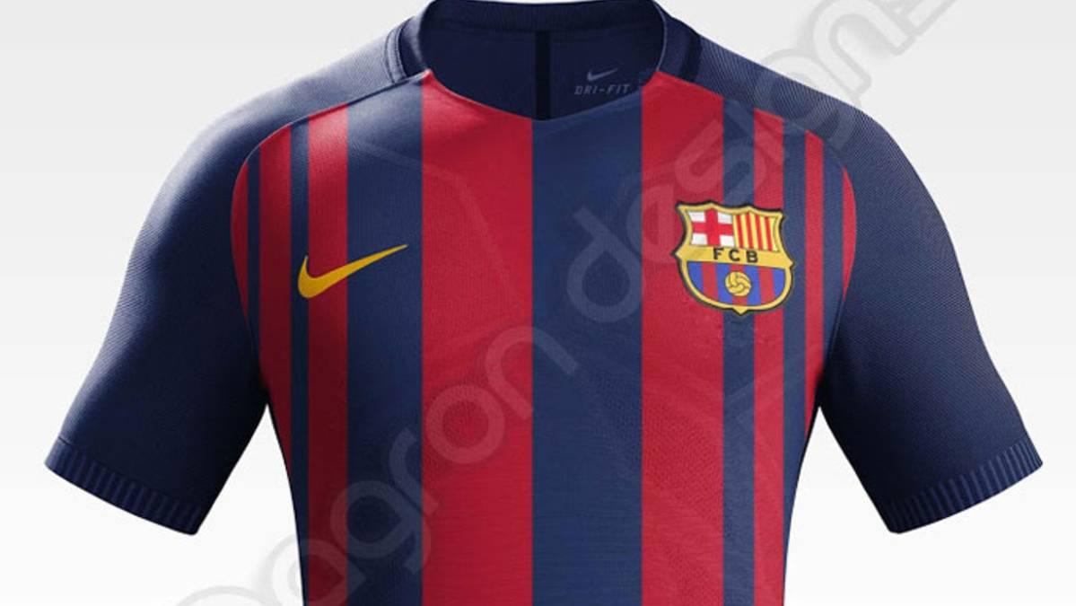 Filtran la posible nueva equipación del Barça 2017-18