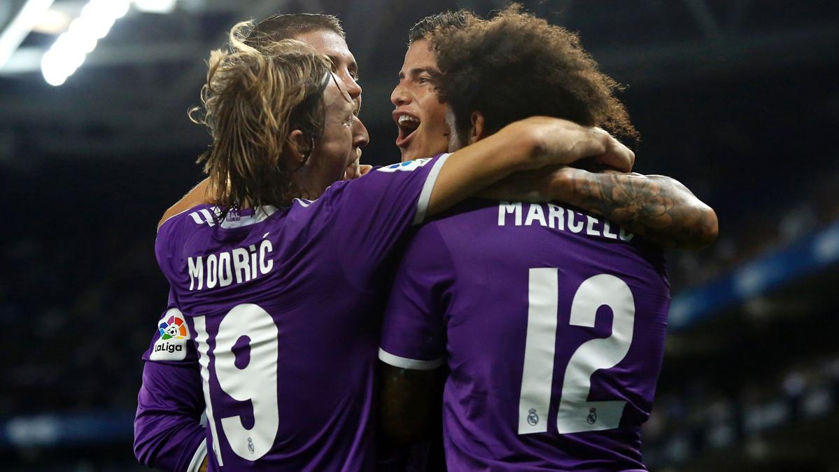 Victoria del Real Madrid con ayuda arbitral en Cornellá (0-2)