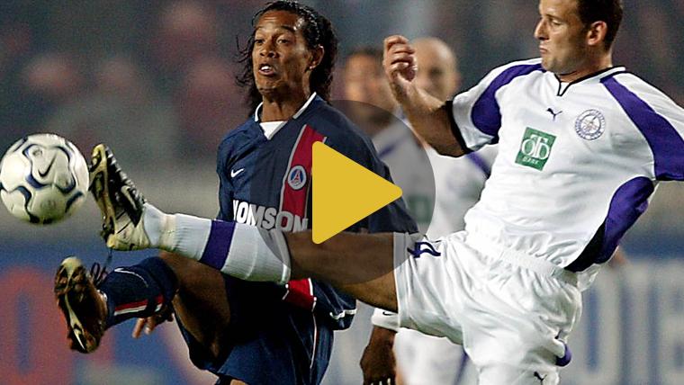 Así eran las fiestas de Ronaldinho en el Paris Saint-Germain