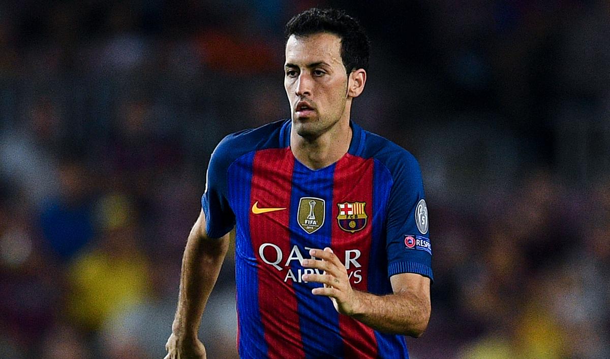 Sergio Busquets grabó su nombre en la historia del Barça
