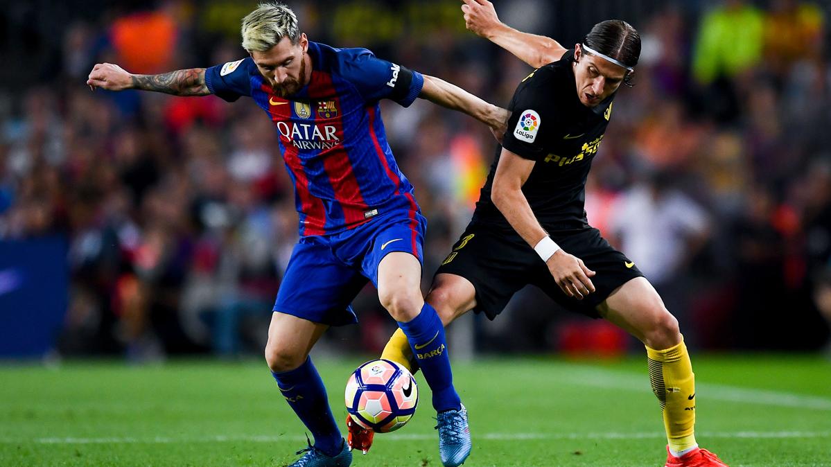 """Filipe Luis admira a su """"amigo"""" Luis Su�rez y a Messi"""