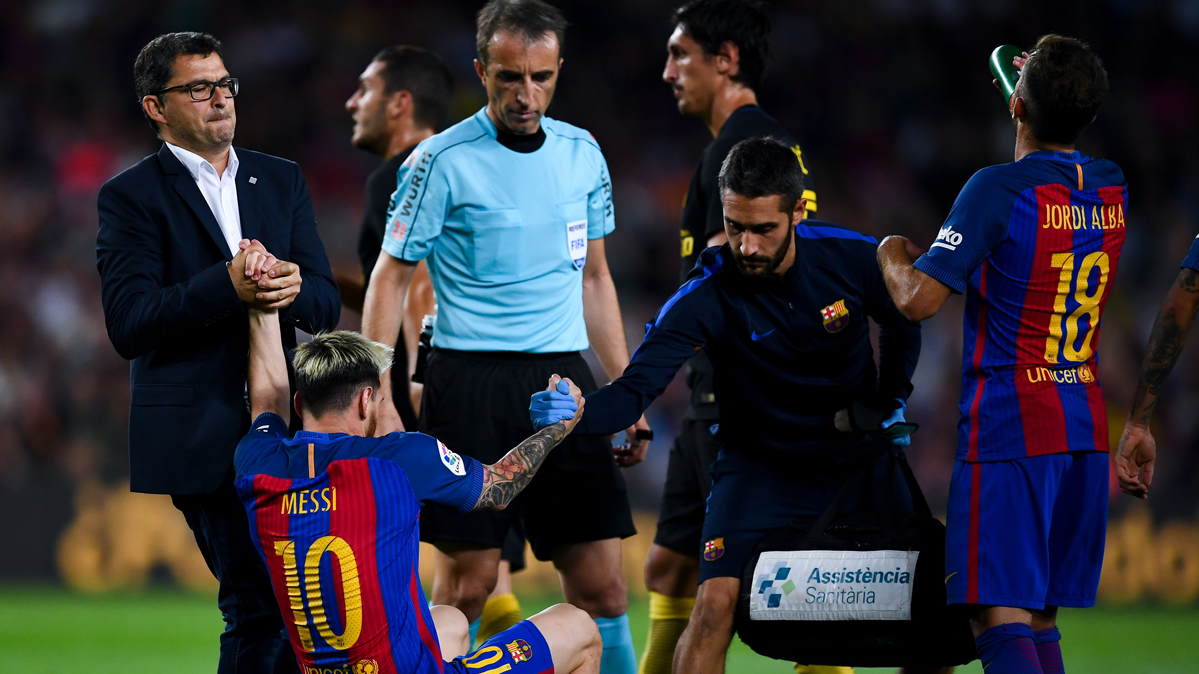 En Argentina critican al Bar�a por los minutos de Messi