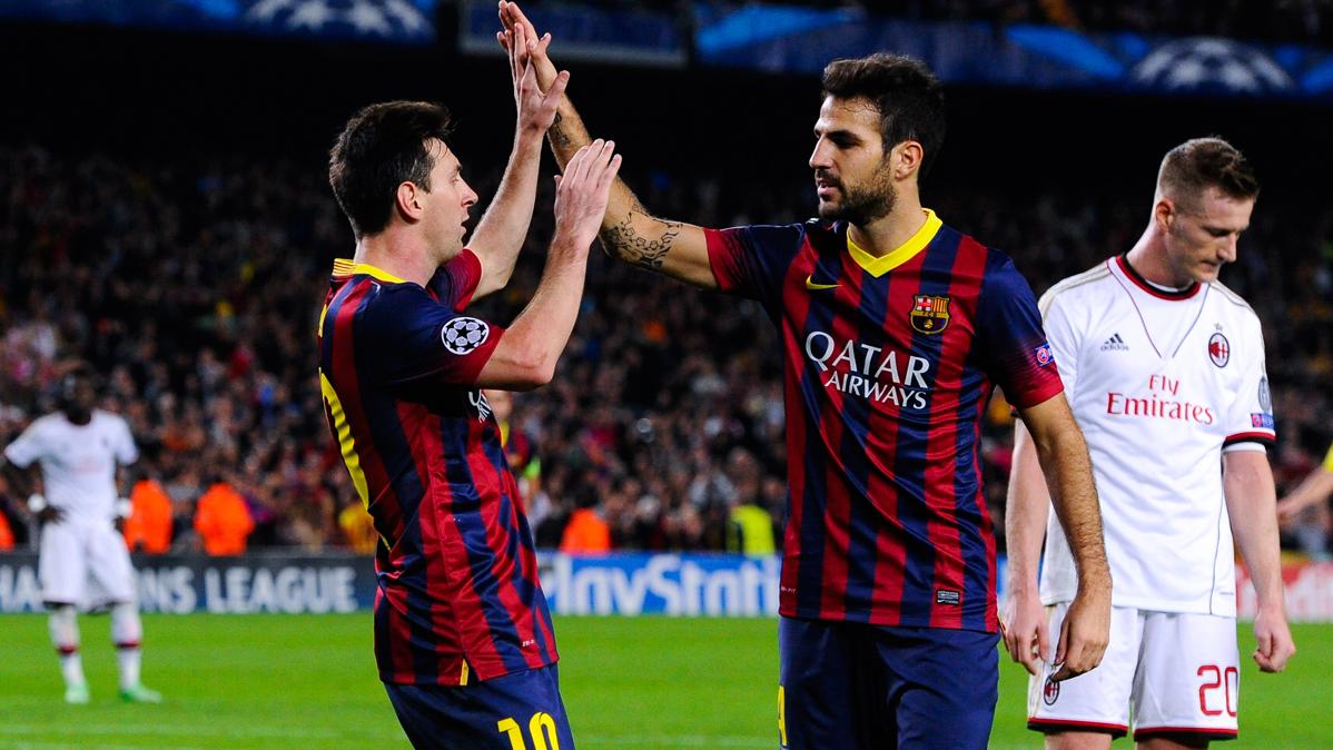 Cesc defiende al Barcelona despu�s de hablar con Messi