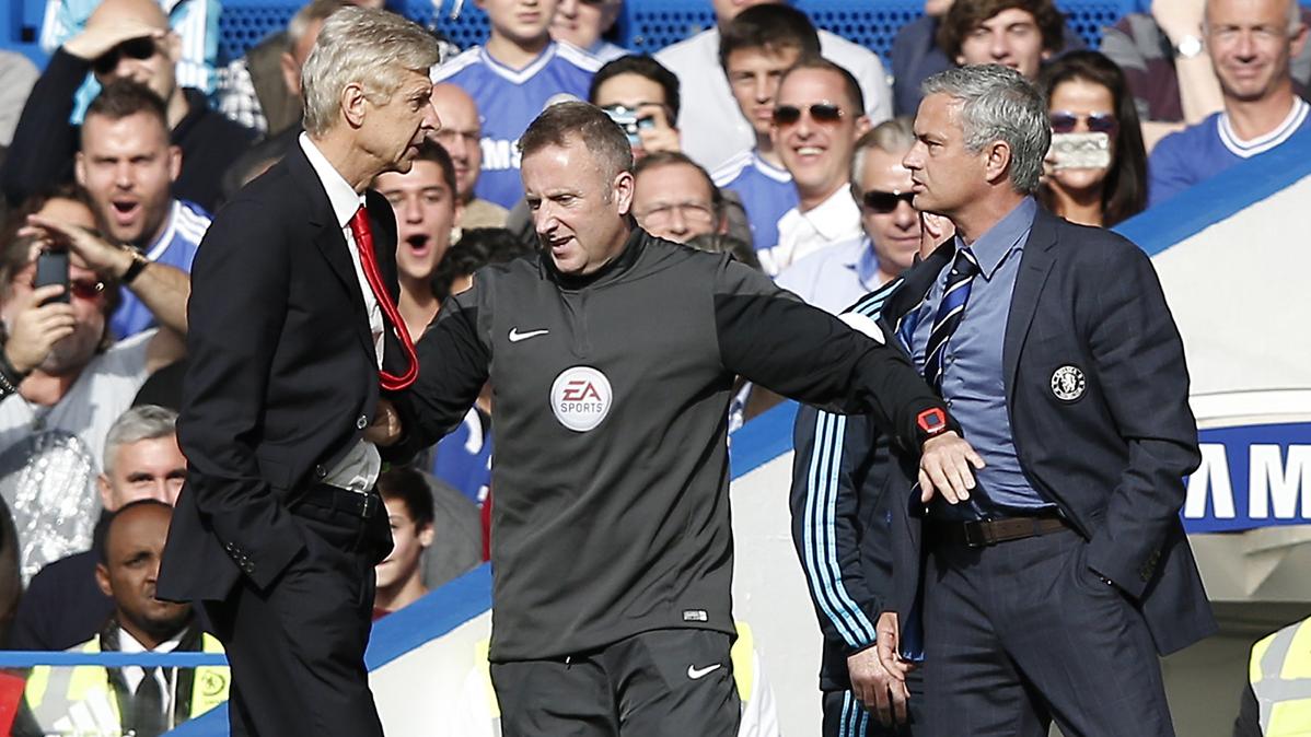"La versi�n m�s barriobajera de Mourinho: ""Le partir� la cara"""