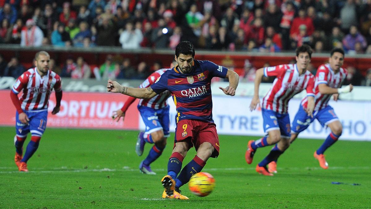 El Sporting, un equipo que no se le da nada mal a Luis Su�rez