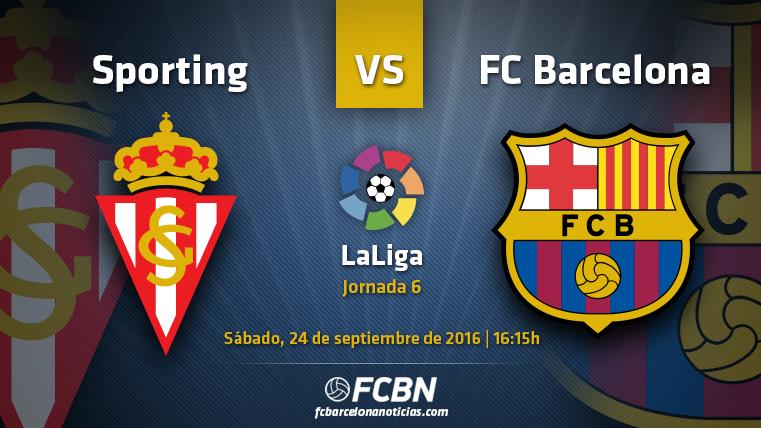 La previa del partido: Sporting vs FC Barcelona (Liga J6)