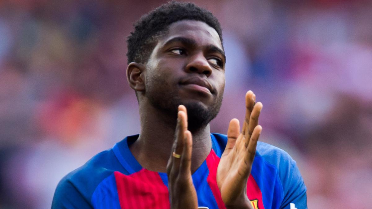 El mensaje de Samuel Umtiti para apoyar al Barcelona