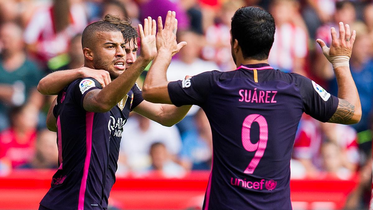 El FC Barcelona ya lidera la lista de Pichichi y m�ximos asistentes