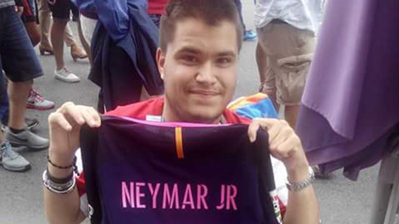 As� se fragu� el gesto de Neymar con el seguidor del Sporting