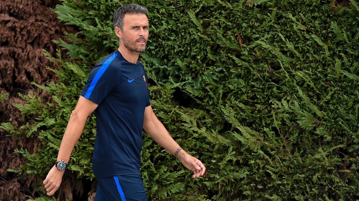Luis Enrique ya tiene claro el once contra el Borussia M'Gladbach